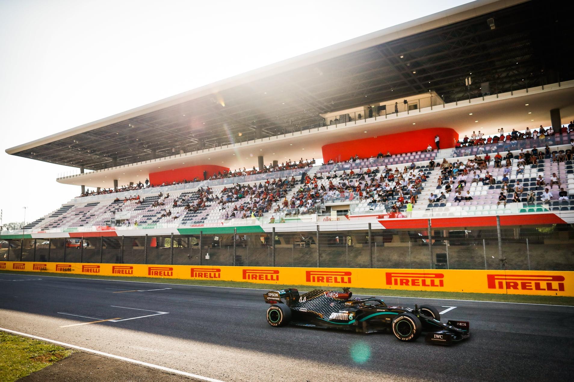 Fórmula 1 - GP da Toscana - Vitória de Lewis Hamilton