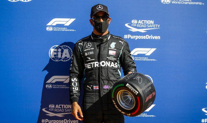 Monza: Um homem, uma máquina! Hamilton é pole e bate recorde