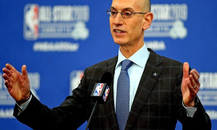 Adam Silver, comissário da NBA, comenta sobre início da temporada 2020/2021