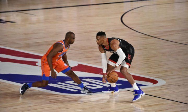 Oklahoma empata série com Rockets e leva decisão para jogo 7
