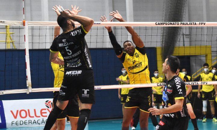 Paulista de Vôlei Masculino – Semifinal – Momentos finais e entrevistas de Taubaté 3 x 0 Guarulhos