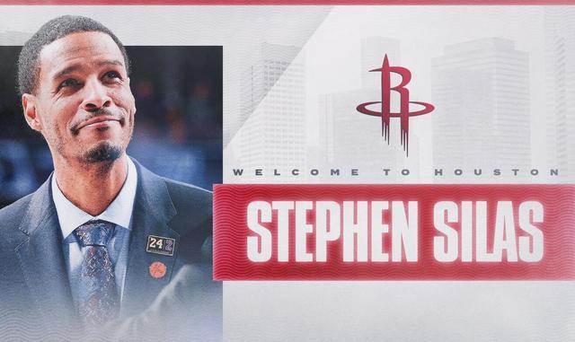 Stephen Silas é o novo técnico do Rockets
