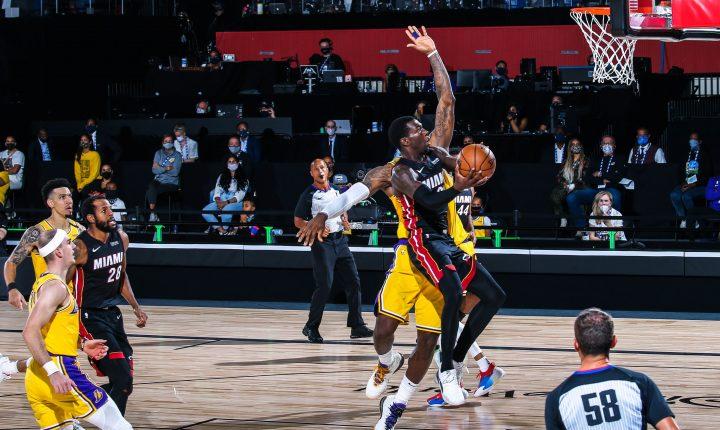 Los Angeles Lakers x Miami Heat – Prognóstico do jogo 2 das finais da NBA 2020