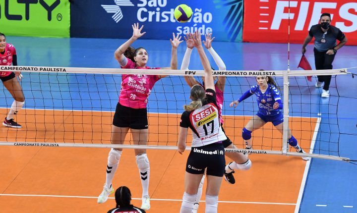 Paulista de Vôlei Feminino – Final – Momentos finais de SESI Bauru x Osasco