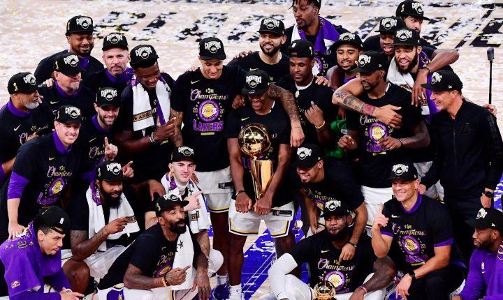 Lakers atropela Heat e se torna campeão da NBA pela 17ª vez