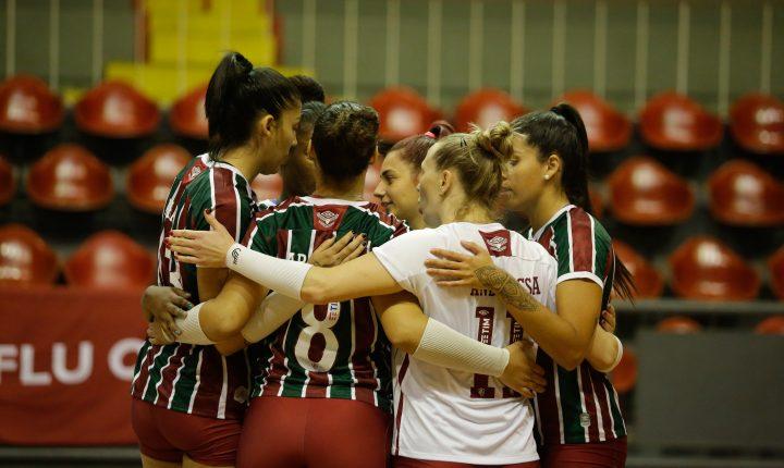 Fluminense vence Tijuca em partida do Cariocão de vôlei feminino