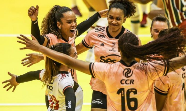 Sesc-RJ/Flamengo domina Fluminense e avança à semifinal do Super Vôlei