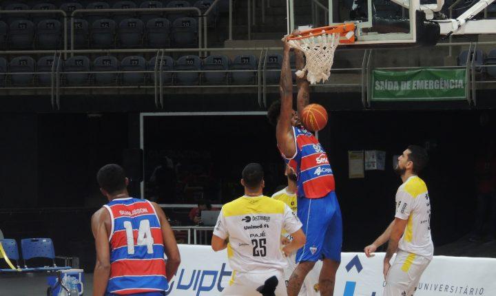 Fortaleza vence Campo Mourão na primeira partida do NBB 2020/2021