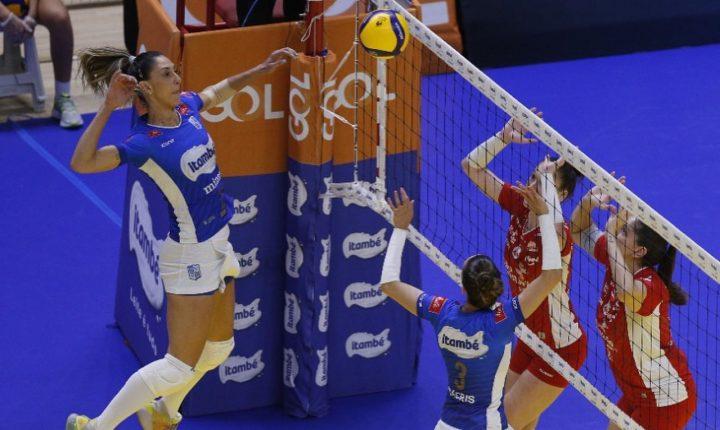 Superliga Feminina 2020 2021- 6ª rodada – Momentos finais de Minas 0 x 3 Osasco