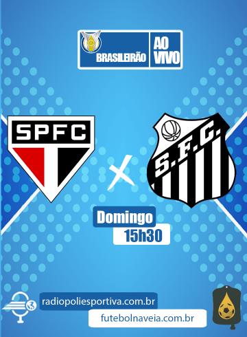Brasileirão 2020 – São Paulo x Santos