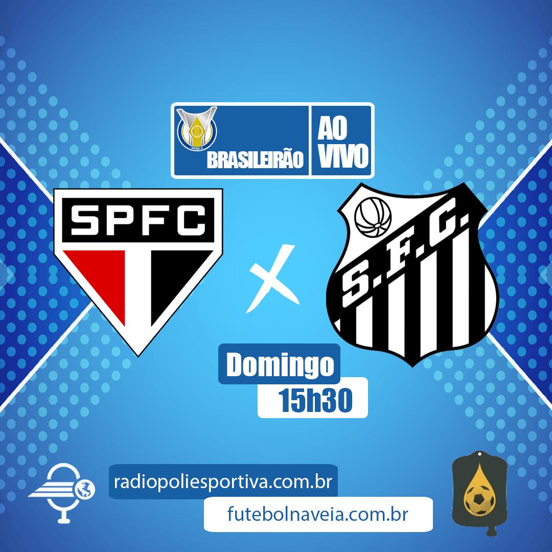 Brasileirão 2020 - 29ª rodada - São Paulo x Santos