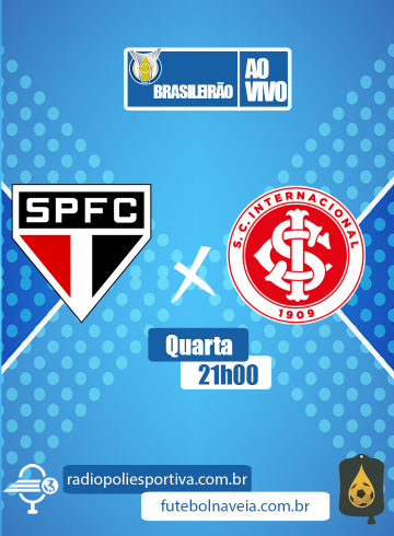 Brasileirão 2020 – São Paulo x Internacional