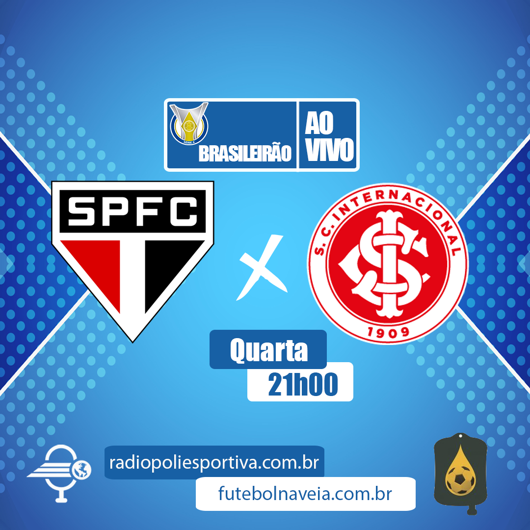 Brasileirão 2020 - 31ª rodada - São Paulo x Internacional