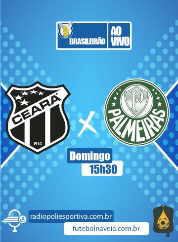Brasileirão 2020 – Ceará x Palmeiras