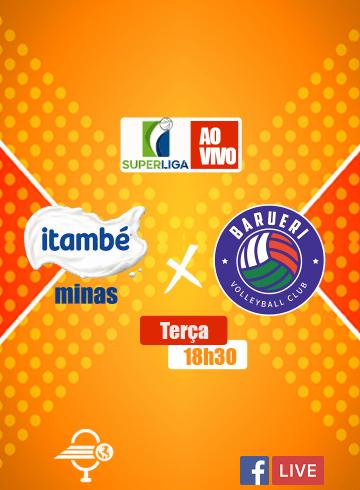 Superliga Feminina – Itambé Minas x São Paulo Barueri