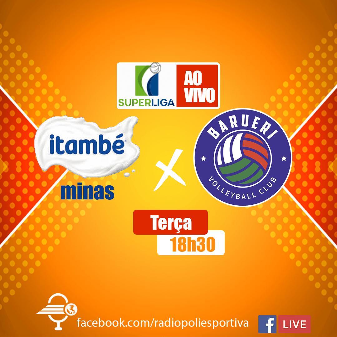 Superliga Feminina de Vôlei 2020 2021 - 5ª rodada Returno - Itambé Minas x São Paulo Barueri