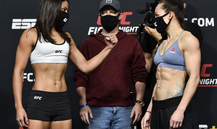 Glória de Paula x Jinh Yu Frey – Prognóstico do UFC Vegas 21
