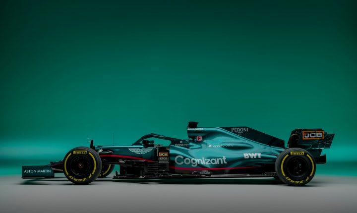Aston Martin apresenta seu carro para 2021