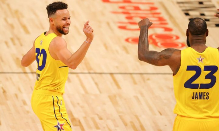 Lebron James quer Curry para os Lakers na próxima temporada