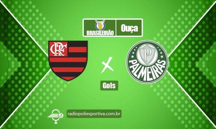 Brasileirão 2021 – Gol de Flamengo 1 x 0 Palmeiras