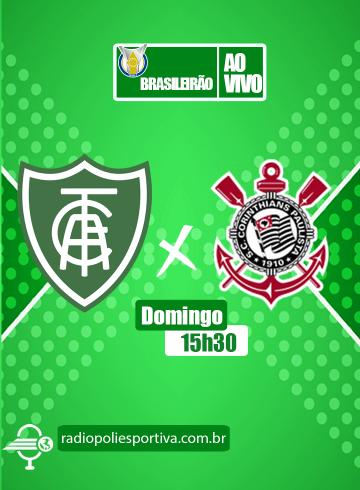 Brasileirão 2021 – 2ª rodada – América-MG x Corinthians