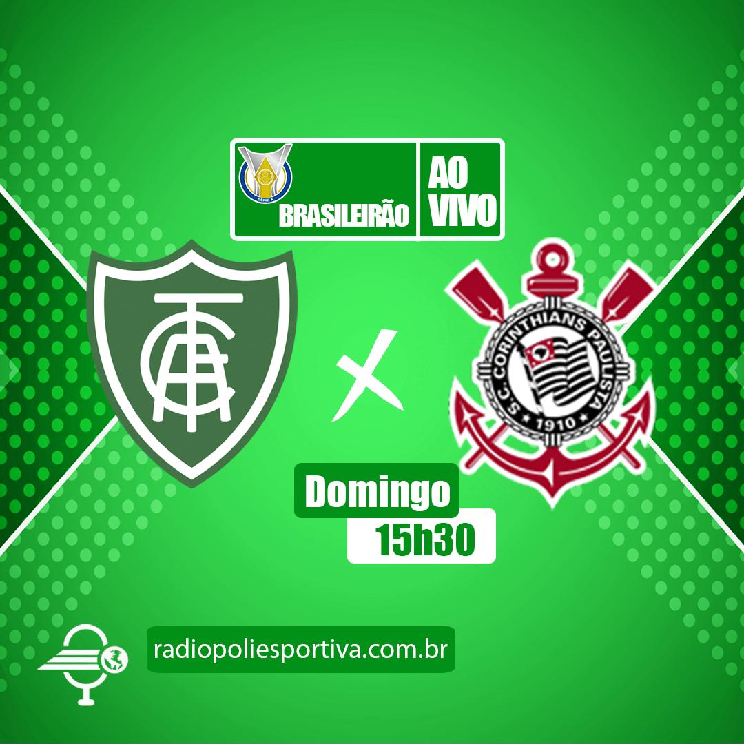 Brasileirão 2021 - 2ª Rodada - América-MG x Corinthians