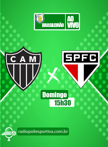 Brasileirão 2021 – 3ª rodada – Atlético-MG x São Paulo