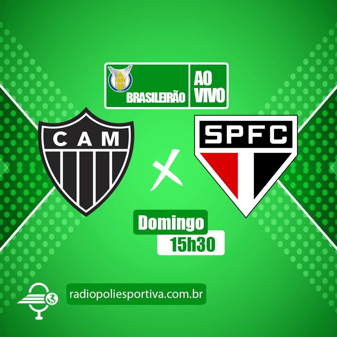 Brasileirão 2021 - 3ª Rodada - Atlético-MG x São Paulo