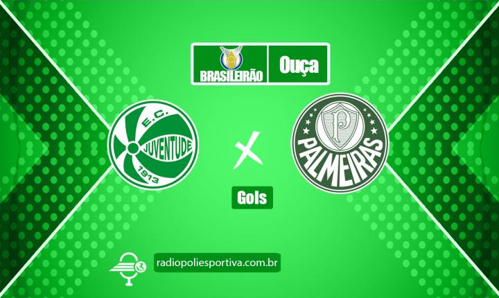 Brasileirão 2021 – Gols de Juventude 0 x 3 Palmeiras