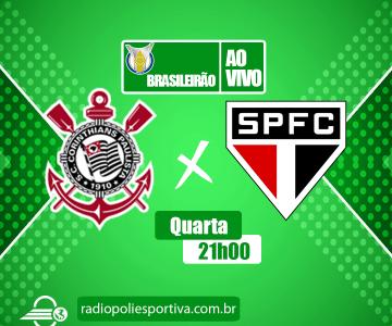 Corinthians x São Paulo – O clássico paulista da 8ª rodada do Brasileirão