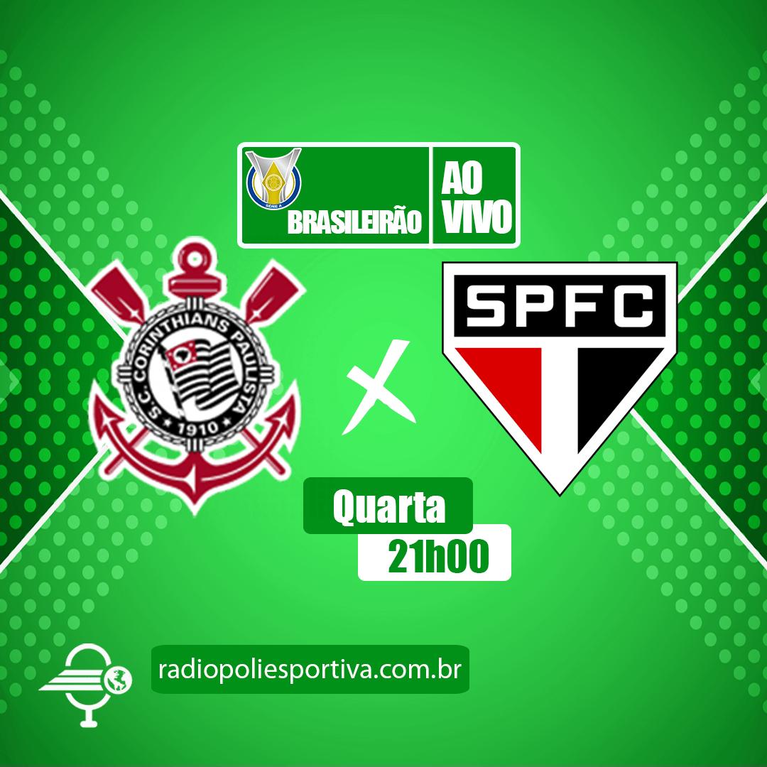 Brasileirão 2021 - 8ª Rodada - Corinthians x São Paulo