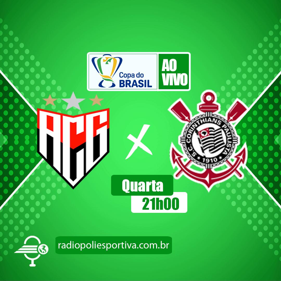 Copa do Brasil 2021 - 3ª Fase - 2º Jogo - Atlético Goianiense x Corinthians
