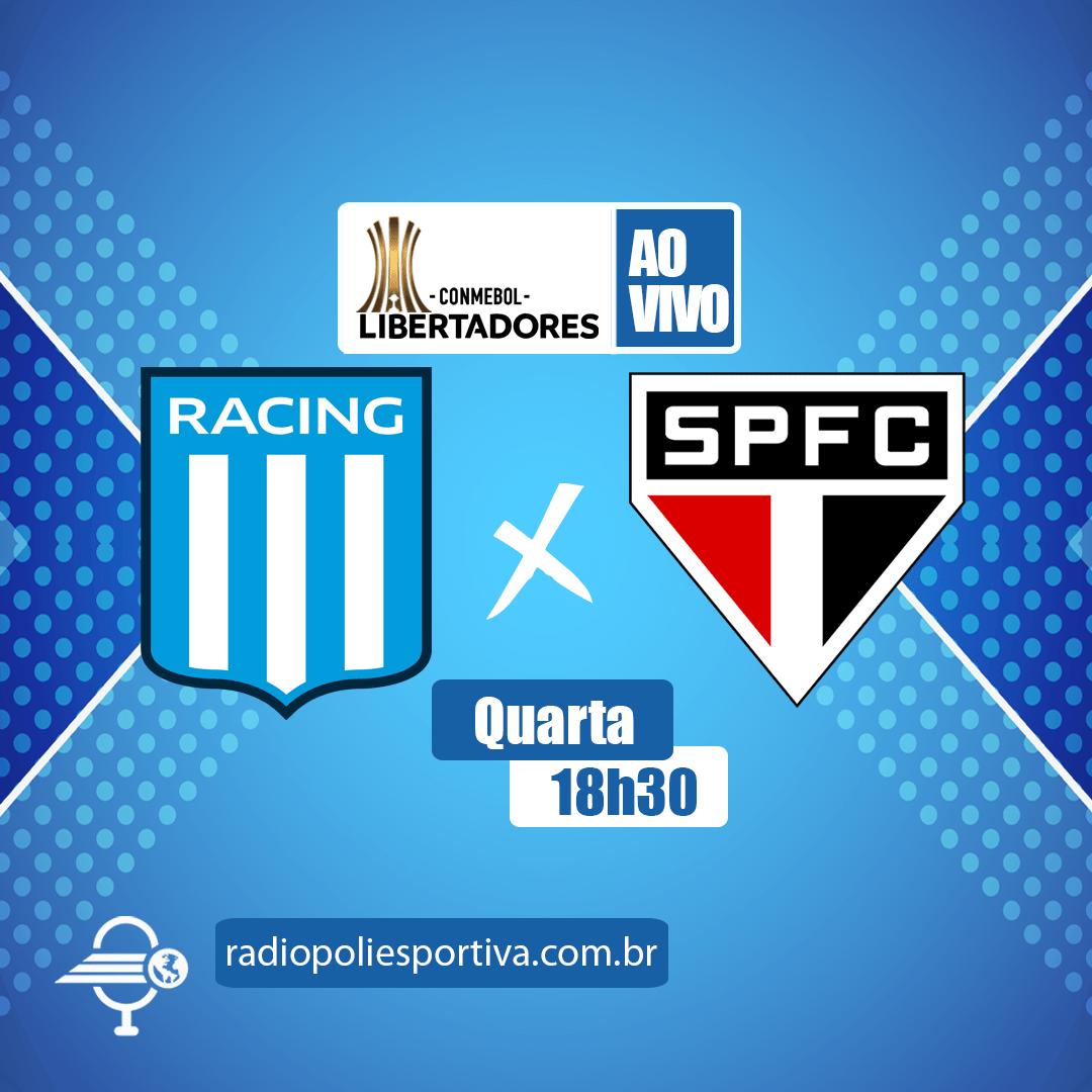 Libertadores 2021 - Fase de Grupos - Rodada 3 - Racing-ARG x São Paulo