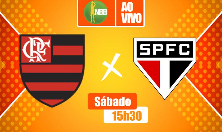Finais do NBB – Flamengo e São Paulo fazem o 1º confronto nesse sábado