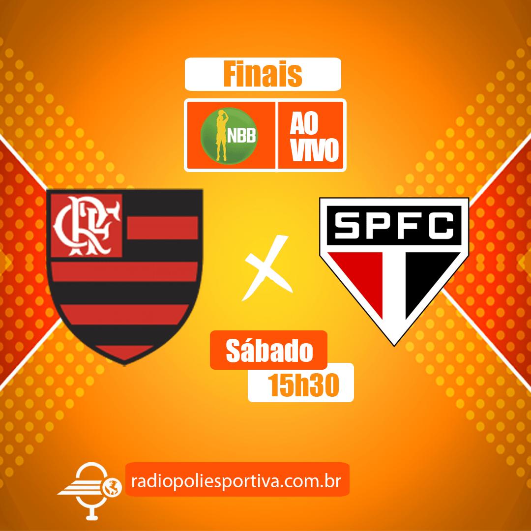 NBB 13 - Playoffs - Finais - Jogo 1 - Flamengo x São Paulo