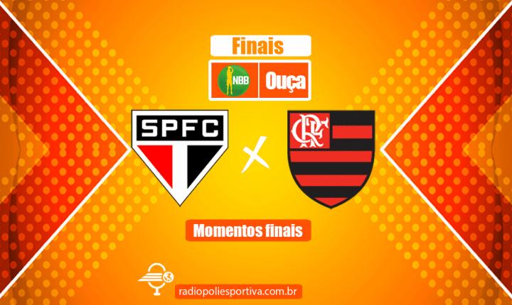 NBB 13 2020 2021- Finais – Jogo 2 – Momentos finais de São Paulo 81 x 82 Flamengo