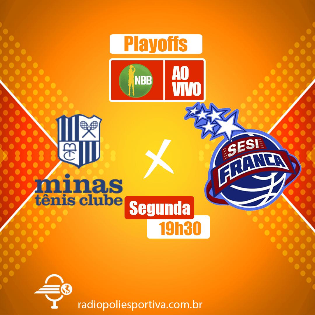 NBB 13 - Playoffs - Quartas de Final - Jogo 3 - Minas Tênis Clube x SESI Franca