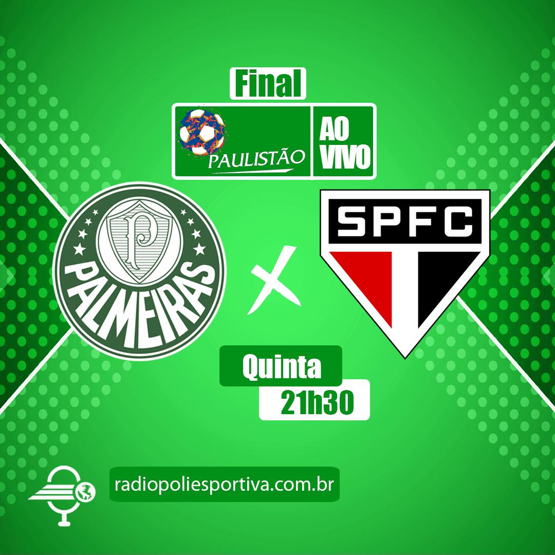 Paulistão 2021 - FInal - Jogo 1 - Palmeiras x São Paulo
