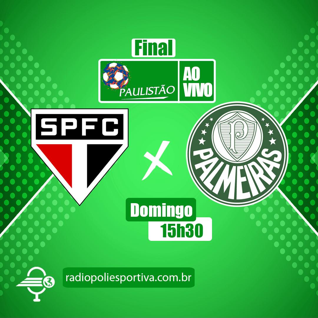 Paulistão 2021 - FInal - Jogo 2 - São Paulo x Palmeiras