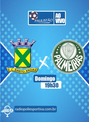 Paulistão 2021 – Santo André x Palmeiras