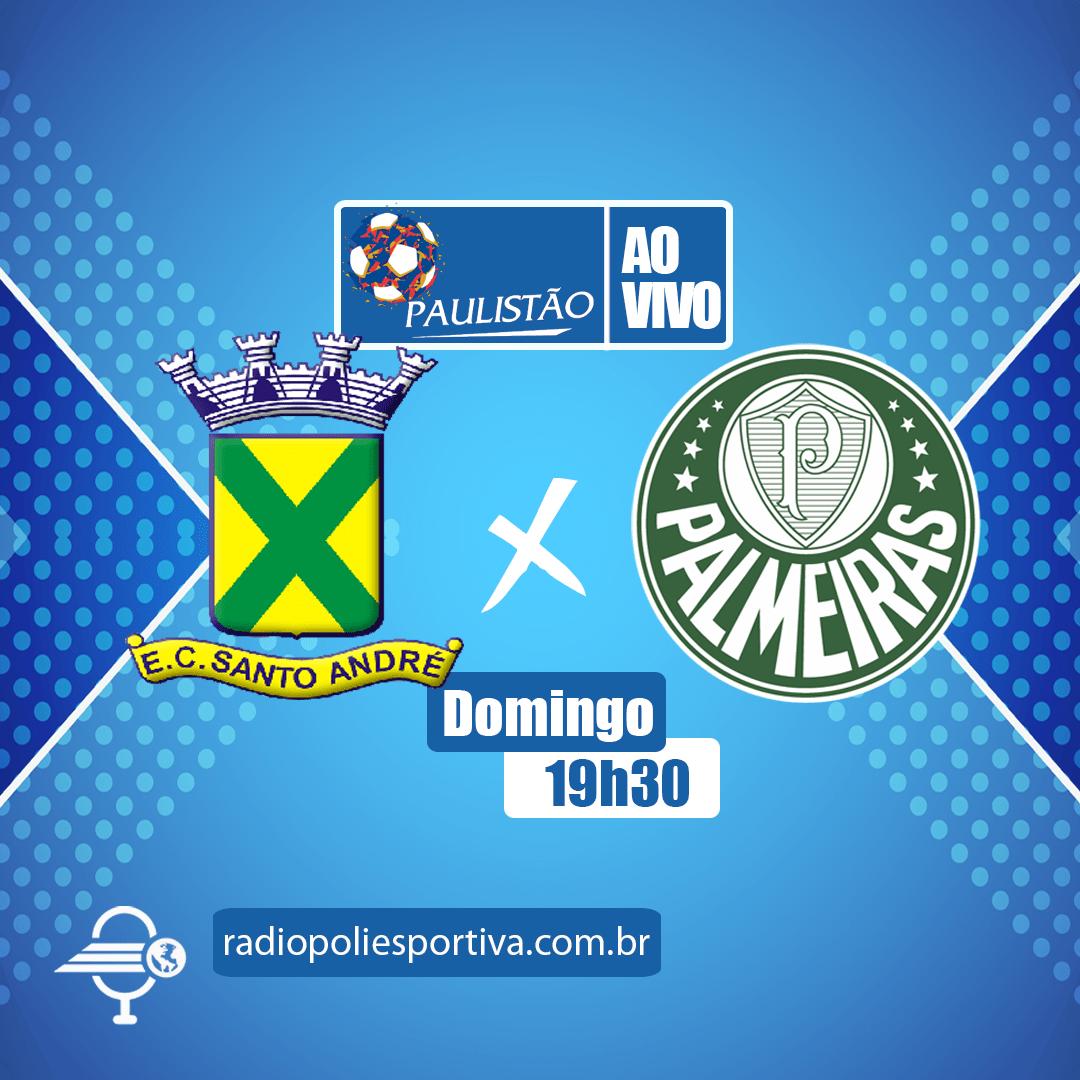 Paulistão 2021 - Rodada 10 - Santo André x Palmeiras