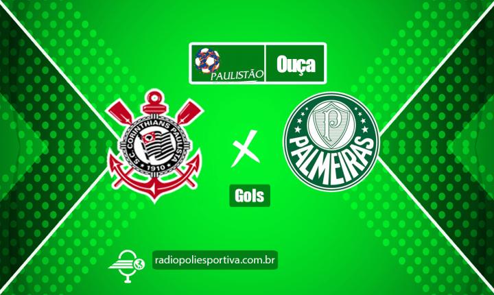 Paulistão 2021 – Semifinal – Gols de Corinthians 0 x 2 Palmeiras