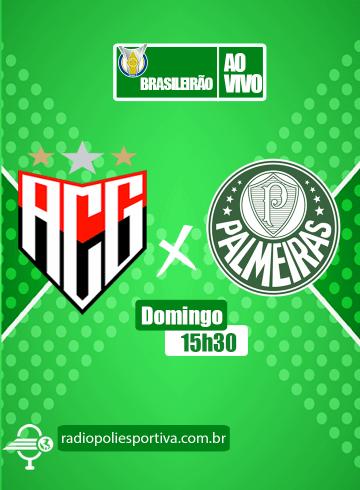 Brasileirão 2021 – 12ª rodada – Atlético-GO x Palmeiras