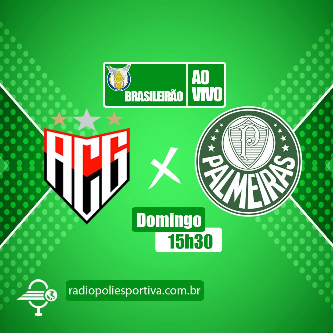 Brasileirão 2021 - 12ª rodada - Atlético-GO x Palmeiras