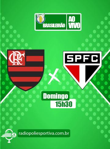 Brasileirão 2021 – 13ª rodada – Flamengo x São Paulo