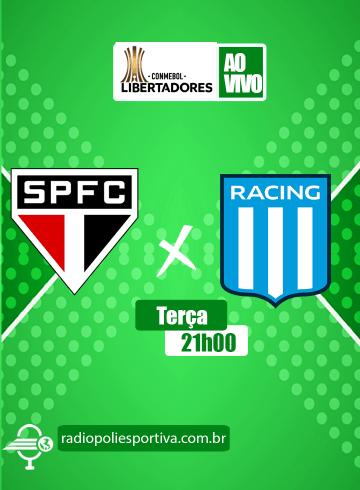 Libertadores 2021 – São Paulo x Racing-ARG