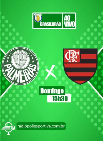 Brasileirão 2021 – 20ª rodada – Palmeiras x Flamengo