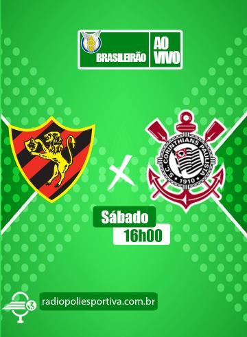 Brasileirão 2021 – 25ª rodada – Sport x Corinthians