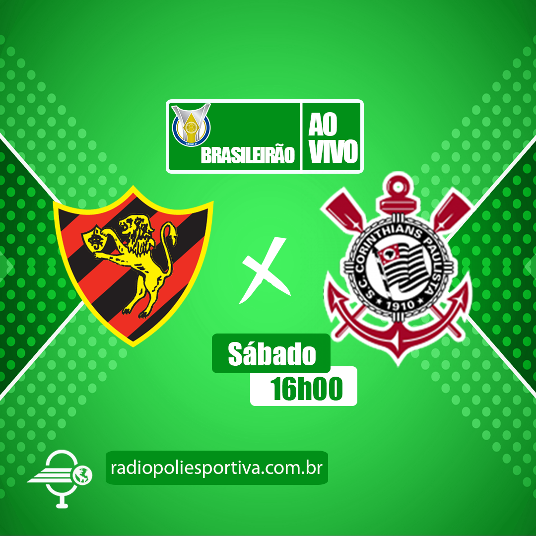 Brasileirão 2021 - 25ª Rodada - Sport Recife x Corinthians