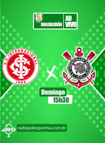Brasileirão 2021 – 28ª rodada – Internacional x Corinthians
